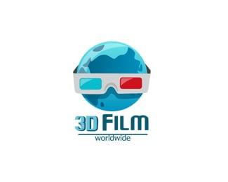 3D Film logo