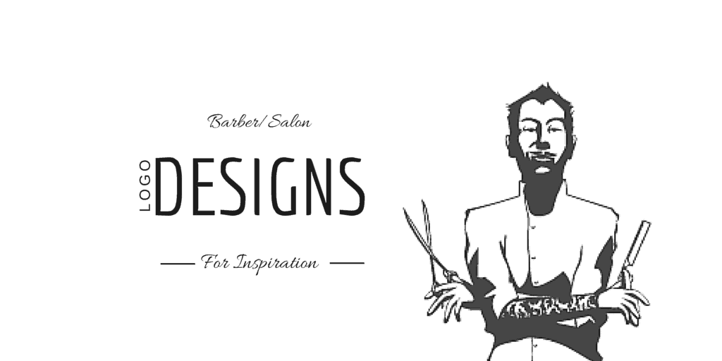 18 best barbersalon logo designs for inspiration 85ideascom - Nail Salon Logo Design Ideas