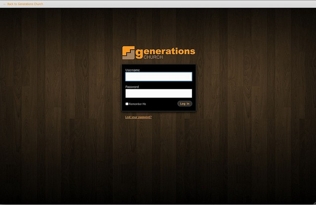 Custom WP login page