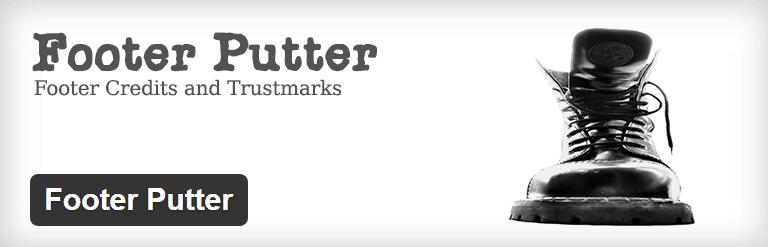 Footer Putter WordPress Plugin