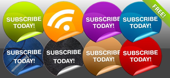 Free Subscribe Badges