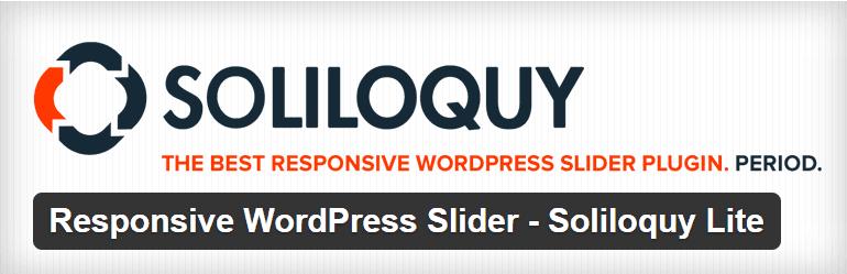 Responsive WordPress Slider Soliloquy Lite