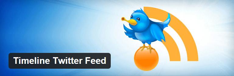 Timeline Twitter Feed Plugin