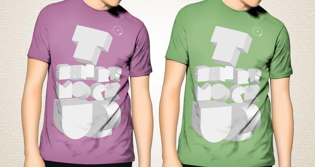 Tshirt 3d Mockup Template Psd