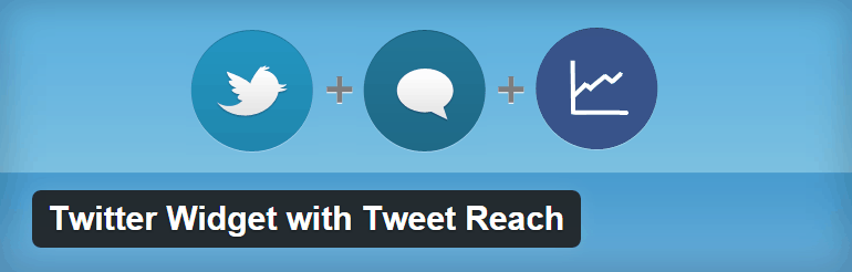 Twitter Widget Tweet Reach Plugin