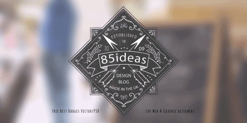 188+ Free Badges Vector/PSD for Web & Graphic designers