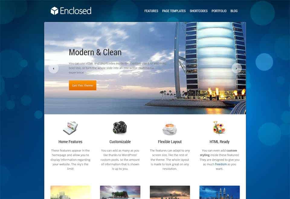 enclosed-wp-theme