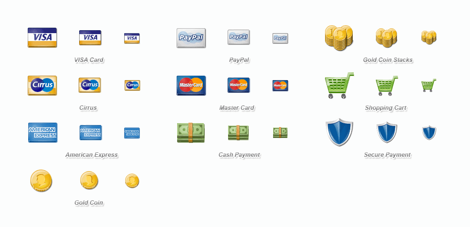 payment-icons-e-commerce sites