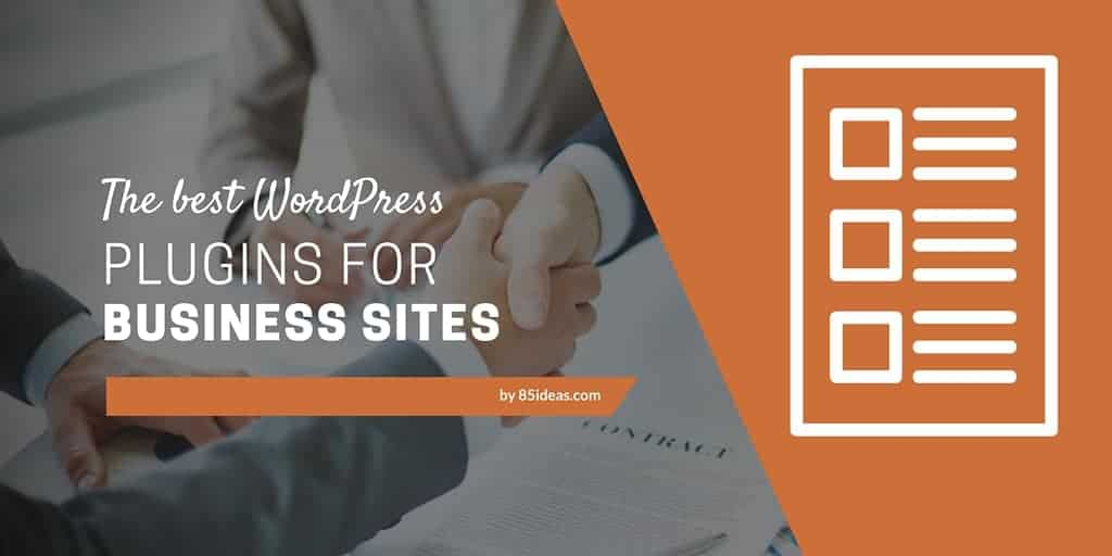 Best WordPress plugins for businesses