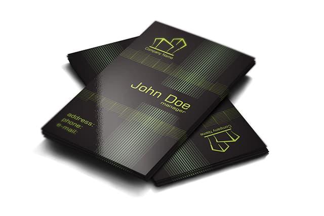 Free Real Estate Business Cards Design