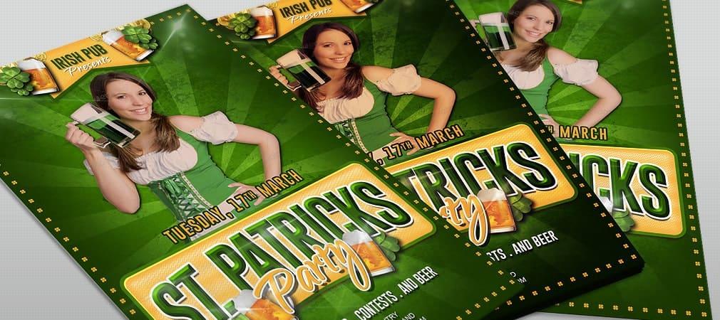 Free St Patricks Party Flyer