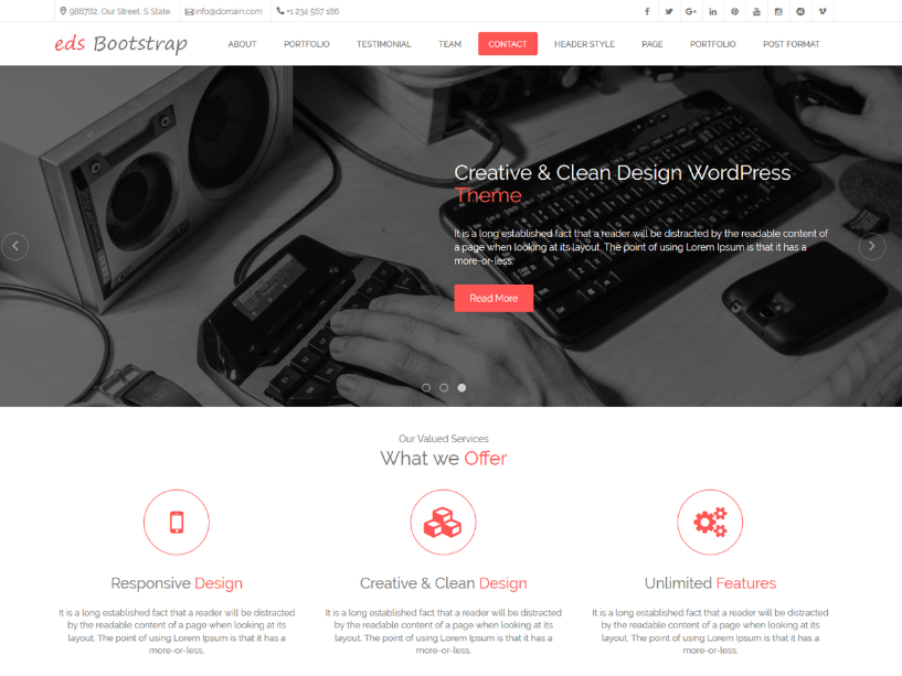 Free-WordPress-Bootstrap-Themes