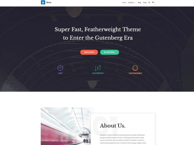 Bootstrap-Themes for wordpress