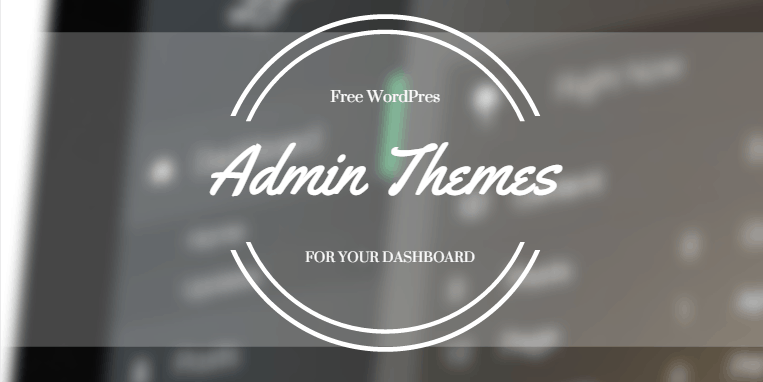 15 libre WordPress temas de administración para 2016