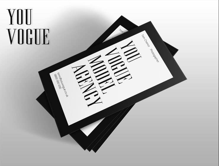 YouVogue Business Card