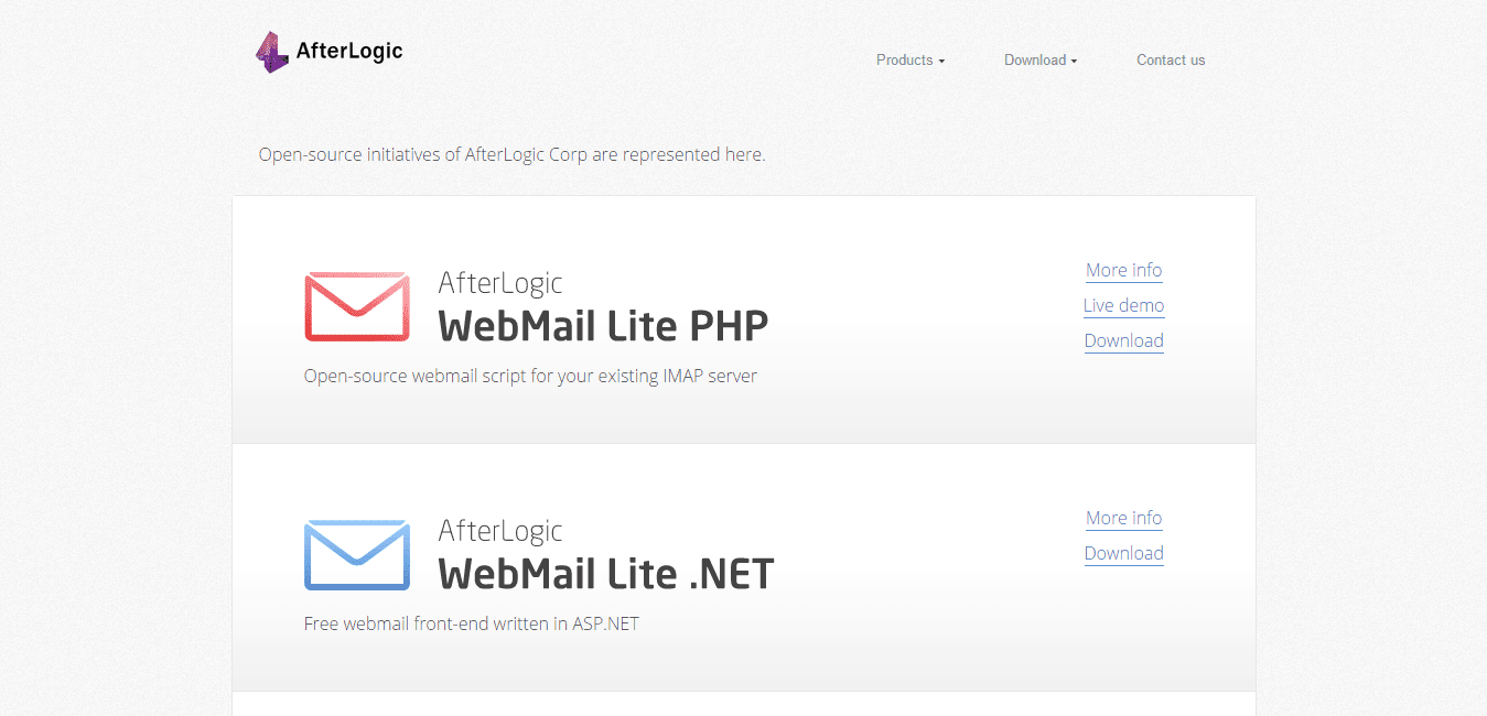 AfterLogic Free Webmail