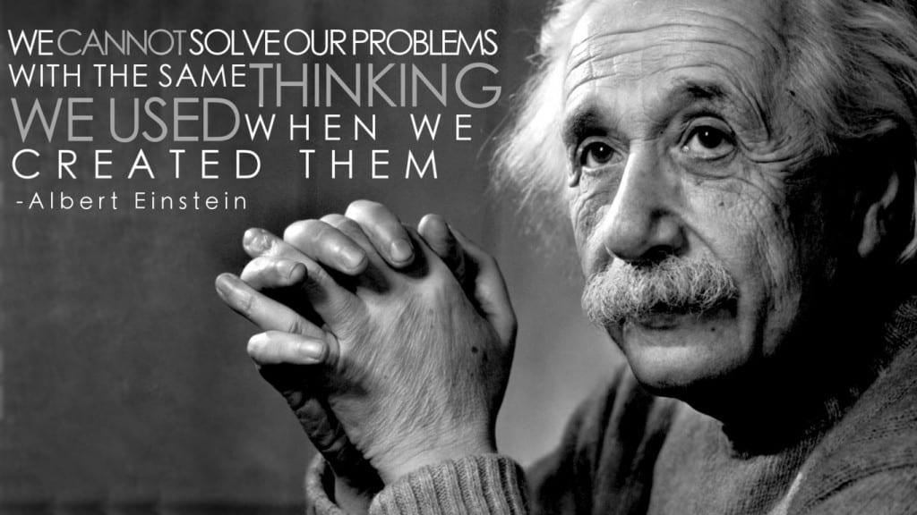 Albert Einstein Quote wallpaper
