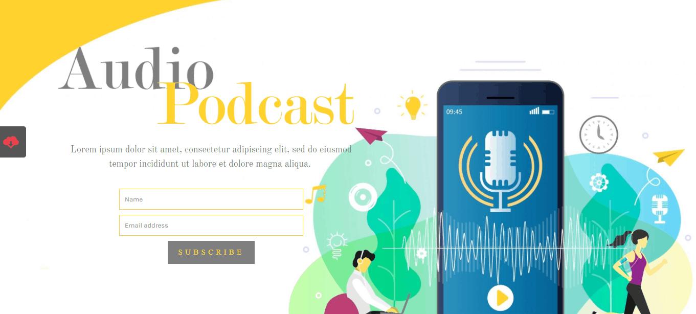 CSAMM Audio Podcast theme
