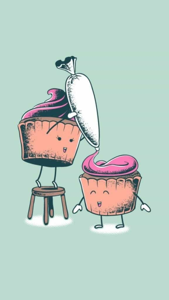 Cupcake-Cooking-Illustration
