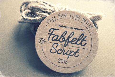 Fabfelt script Free font
