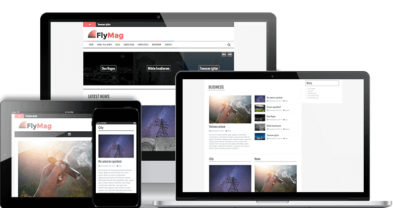 FlyMag WordPress THeme