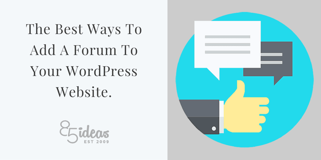 Image Result For Best WordPress Forum Plugins How To Add A