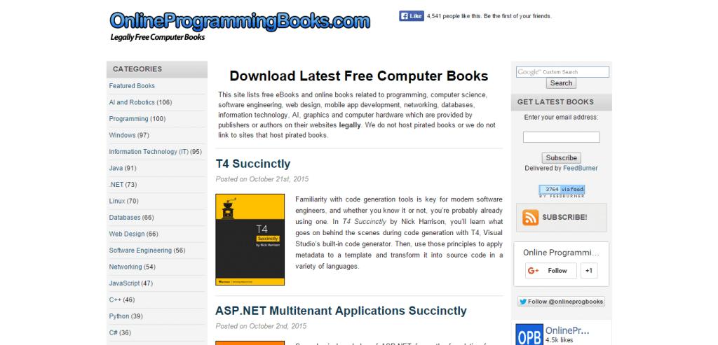 Free Computer Books