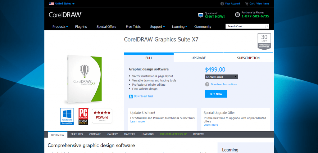 Graphic Design Software CorelDRAW