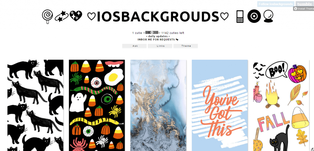 IOS BACKGROUDS