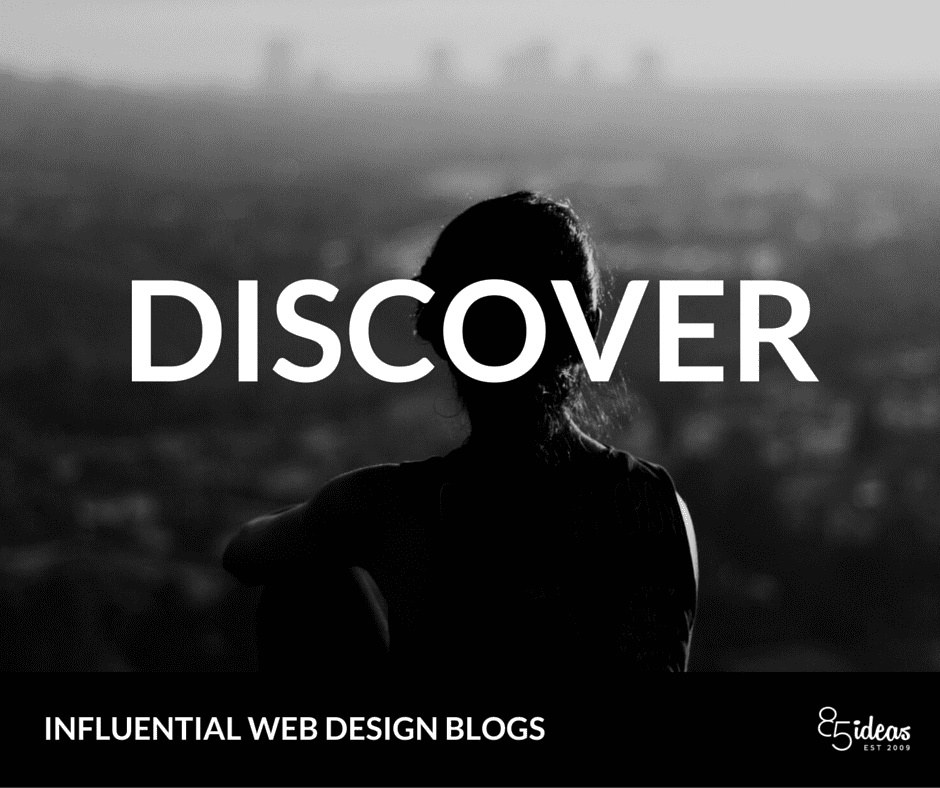 Design Blogs To Follow top web design blogs to follow in 2016 - 85ideas