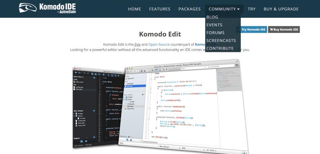 Komodo Edit Tool