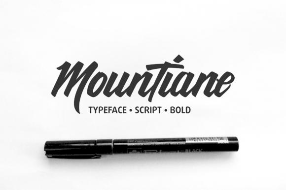 MounTiane Typeface