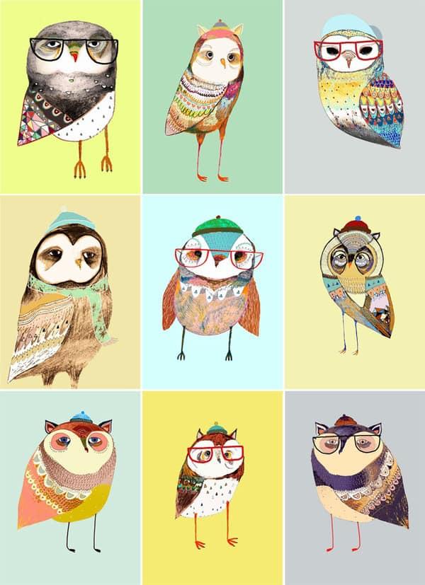 Owl iphone background