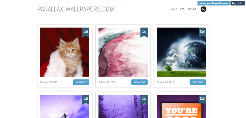 Parallax Wallpapers