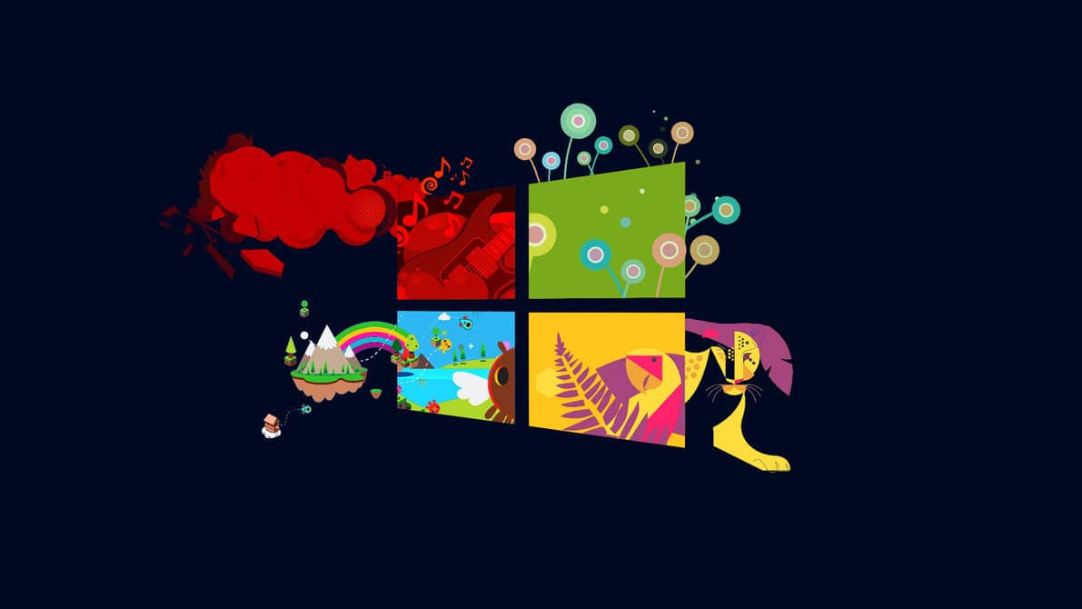 Playful Wallpaper Vector