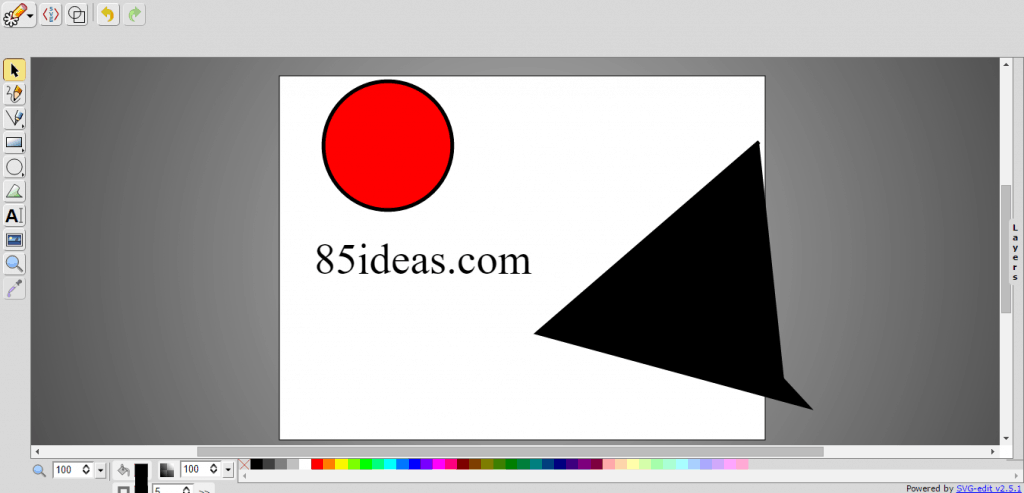 SVG edit