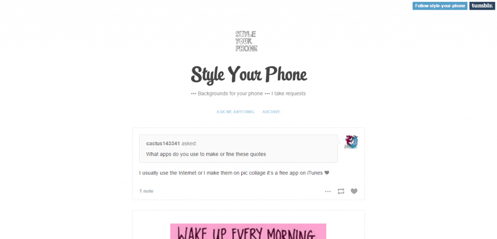 Style Your Phone blog