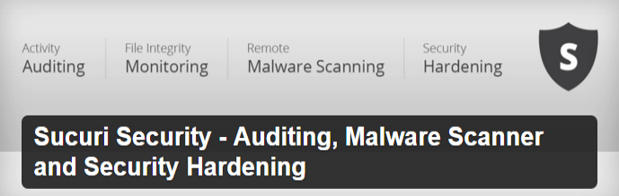 Sucuri Security Malware Scanner WordPress Plugin