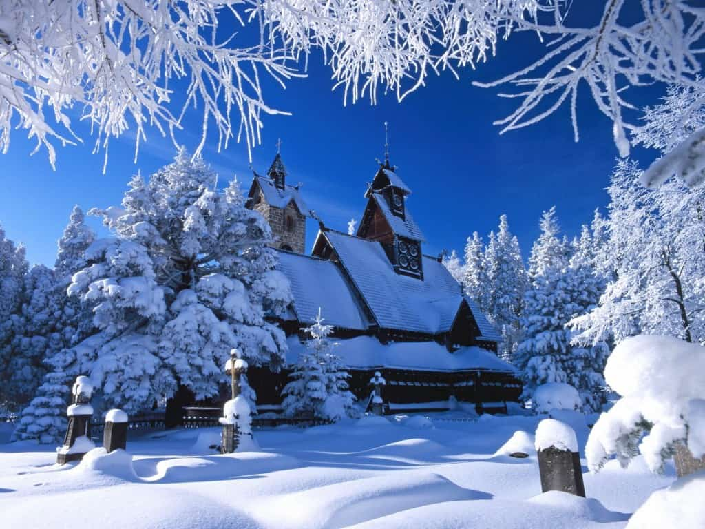 22 Winter Christmas Wallpaper For Desktops