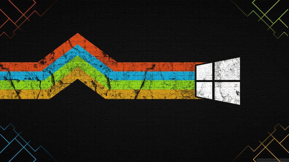 colourful windows wallpaper