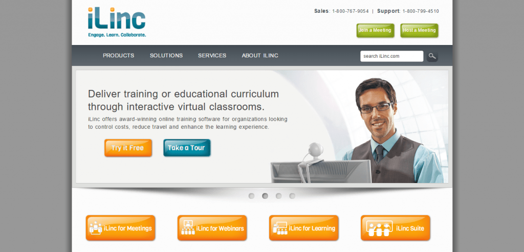 iLinc Web and Video Conferencing