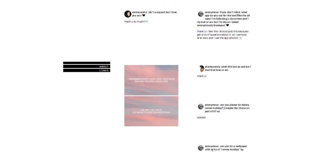 lyrics wallpapers tumblr
