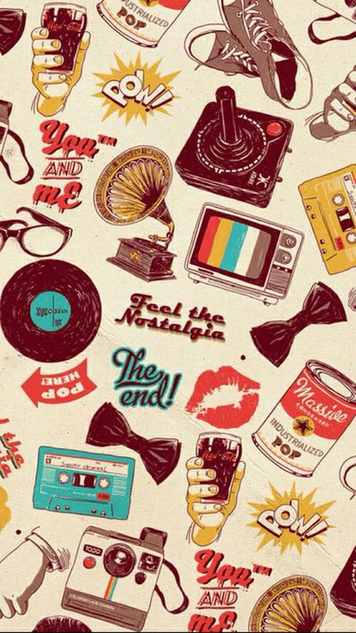 tumblr_retro wallpaper