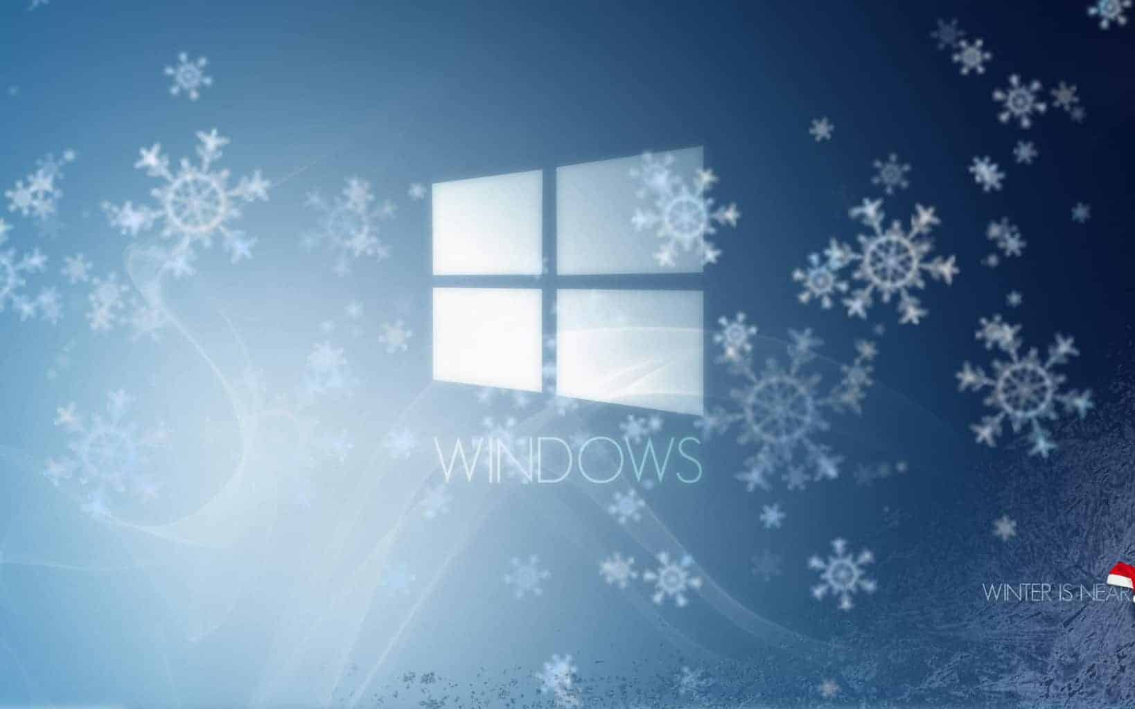 winter windows 10