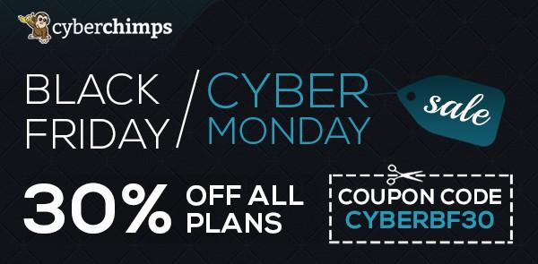 Cyberchimps black friday deal