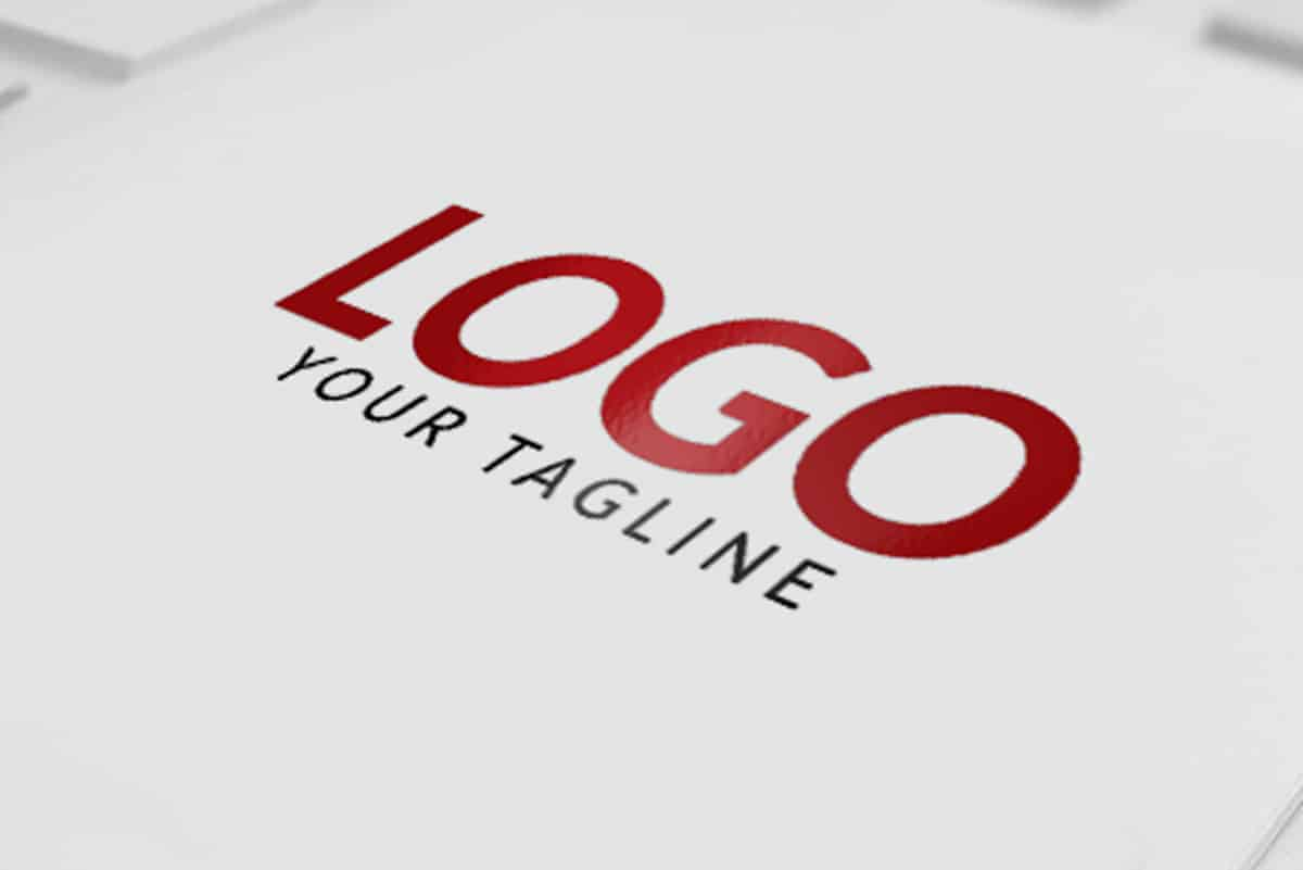 LOGO Paper MOCK-UP PSD
