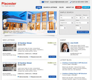 Manchester free real estate theme