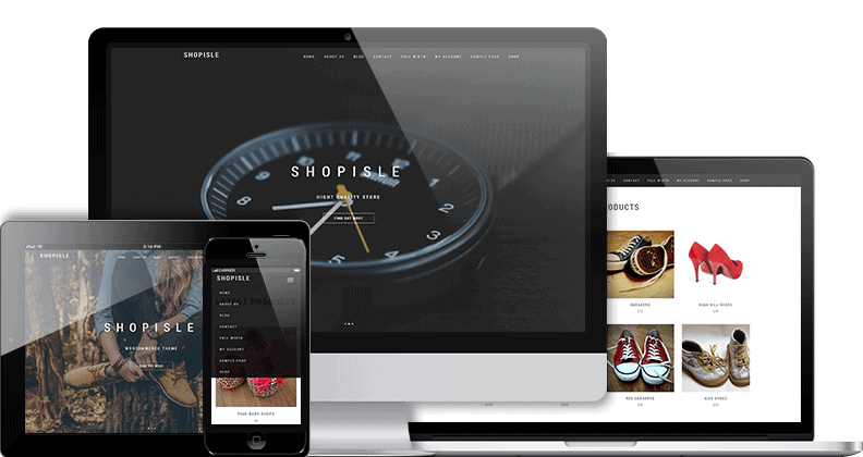 Shop Isle Free eCommerce WordPress Theme