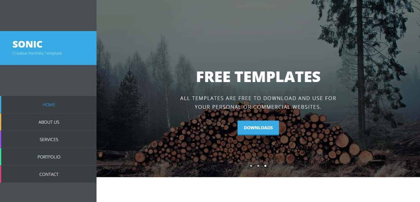 16 best free dreamweaver templates for Dreamweaver photo gallery template