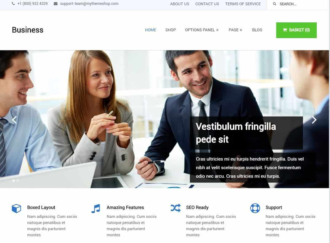 Business WordPress Theme MyThemeShop